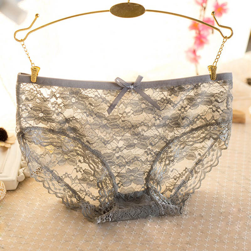 Women Sexy Seamless Underwear Women Lace Panties Lingerie S72