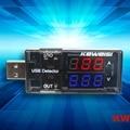 Alta Calidad KEWEISI 3 V a 9 V 0A a 3A USB Cargador De Capacidad de La Batería Probador Del Metro del Voltaje de Corriente Envío de la gota