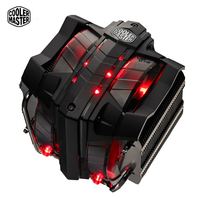 CoolerMaster V8 GTS CPU Cooler 8 Heatpipes Double 140mm LED Fans CPU Radiator For 1150 1151