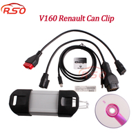 Free ship Newes V172 CanClip for Renaut Car Diagnostic Interface for Renault Can Clip OBD2 Diagnostic Tool Scanner