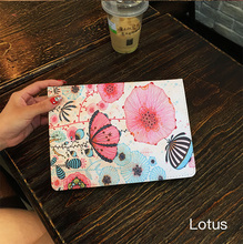 For tablet Apple iPad mini4 7.9inch Case Fashion Tablet PU Leather Flip Stand Smart Wake/Sleep Cases Painted Cover Funda Shell