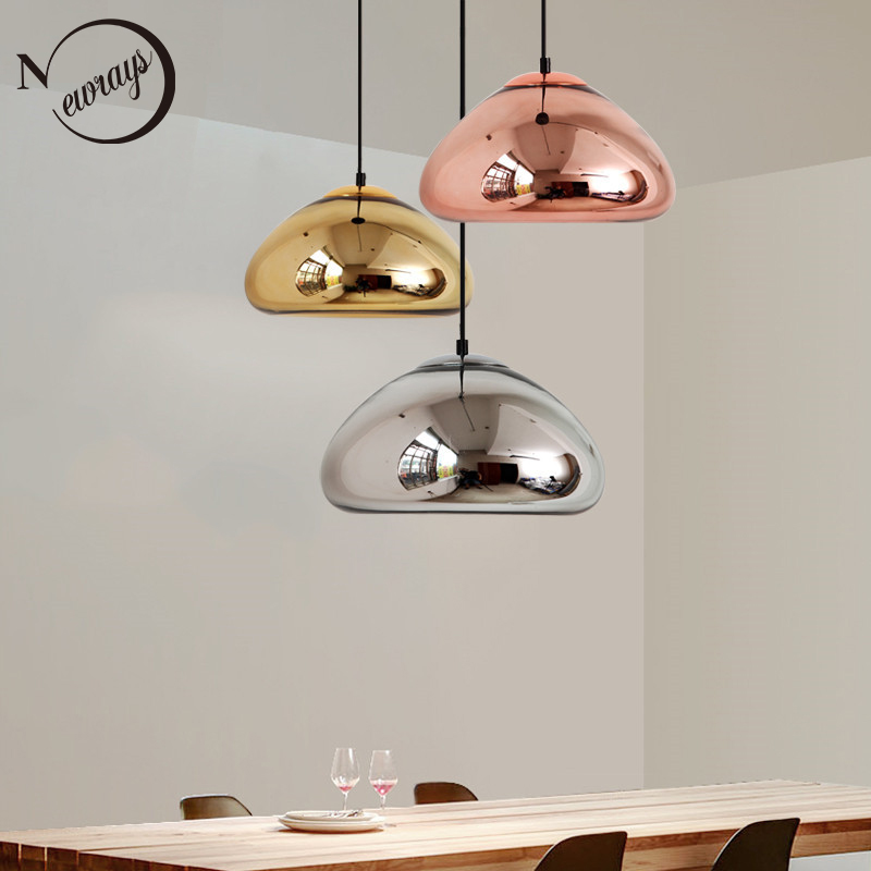 Art deco modern novelty glass pendant light LED E27 with 3 colors for parlor bedroom dining room cafe hotel restaurant office deco glass ваза для цветов стрекоза d04033 0240 0306al