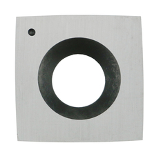 15mm (.59) Square with 6(150mm) Radius Carbide Insert Cutter(15mmX15mmX2.5mm)4-Edge for Wood Lathe Rougher Turning Tools,1pcs