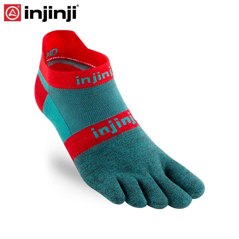Injinji Toe Socks 2019 Run Lightweight No-show Five-finger Running Socks Men