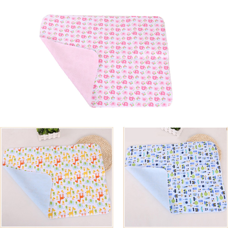Changing Pads Baby Nappies Diaper Changing Mat Baby Cloth Diapers Waterproof  Bedding Diapers Reusable Infant Flannel Diapers