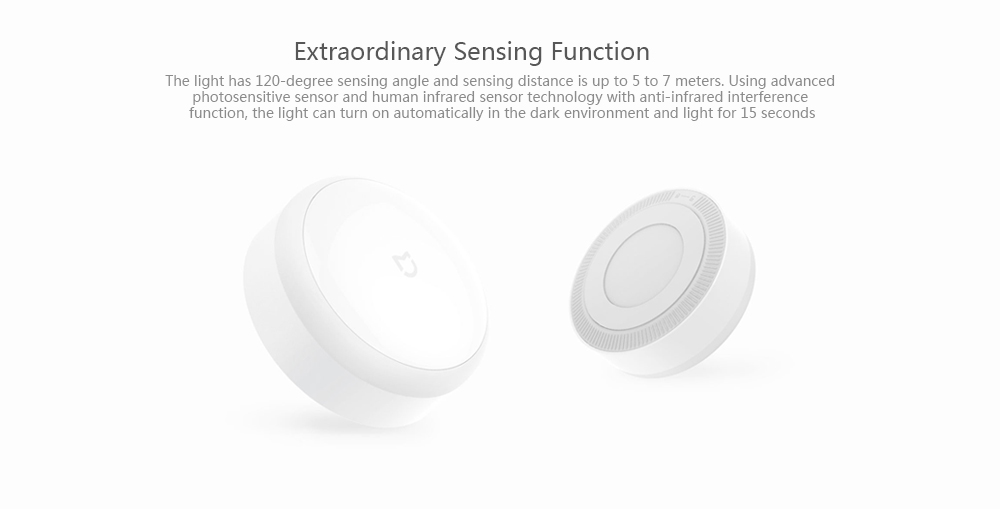 Xiaomi Mijia LED Corridor Night Light Infrared Remote Control Body Motion Sensor Smart Home  Yeelight USB Charge Version (5)