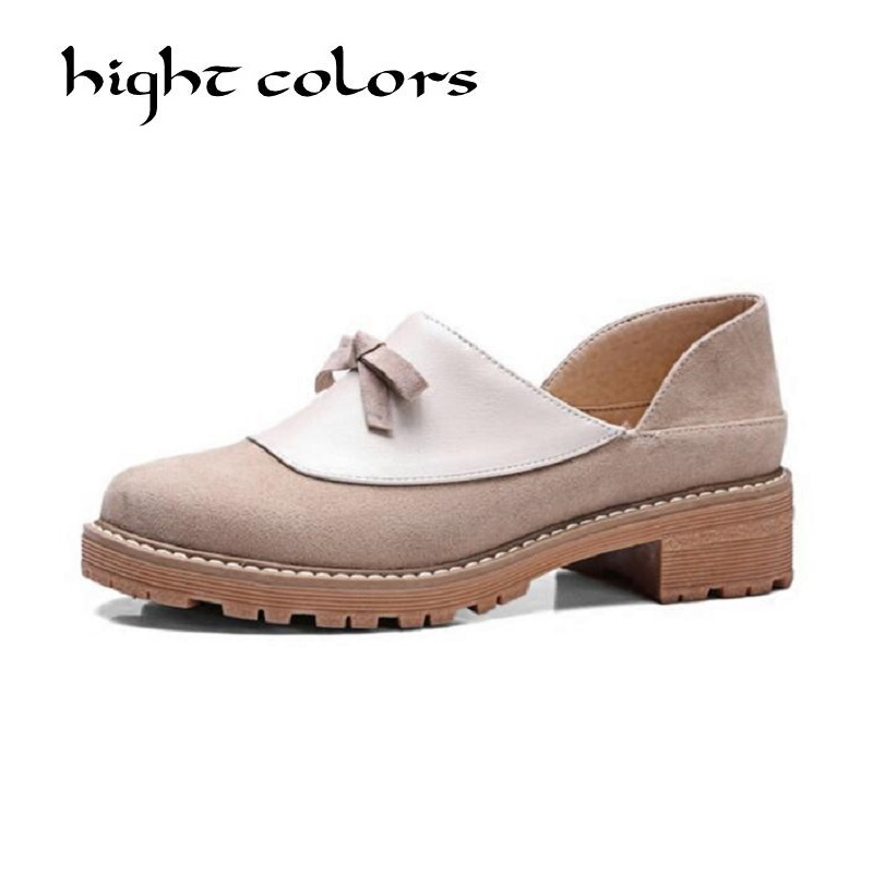 New Women Casual Slip-on Loafers Fashion Bowtie Patchwork Flock Flats For Women Ladies Casual Flat Shoes Woman Plus Size 34-43 new round toe slip on women loafers fashion bow patent leather women flat shoes ladies casual flats big size 34 43 women oxfords