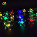 2017 Cherry LED String Lights Multicolor Valentine Wedding Decoration Holiday Romantic Battery Parties Lightings Casamento
