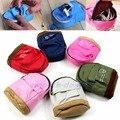1 Pc Moda Mochila Portátil Moeda Bolsa Carteira Bolsa de Mão para As Mulheres Homens Lady Presente