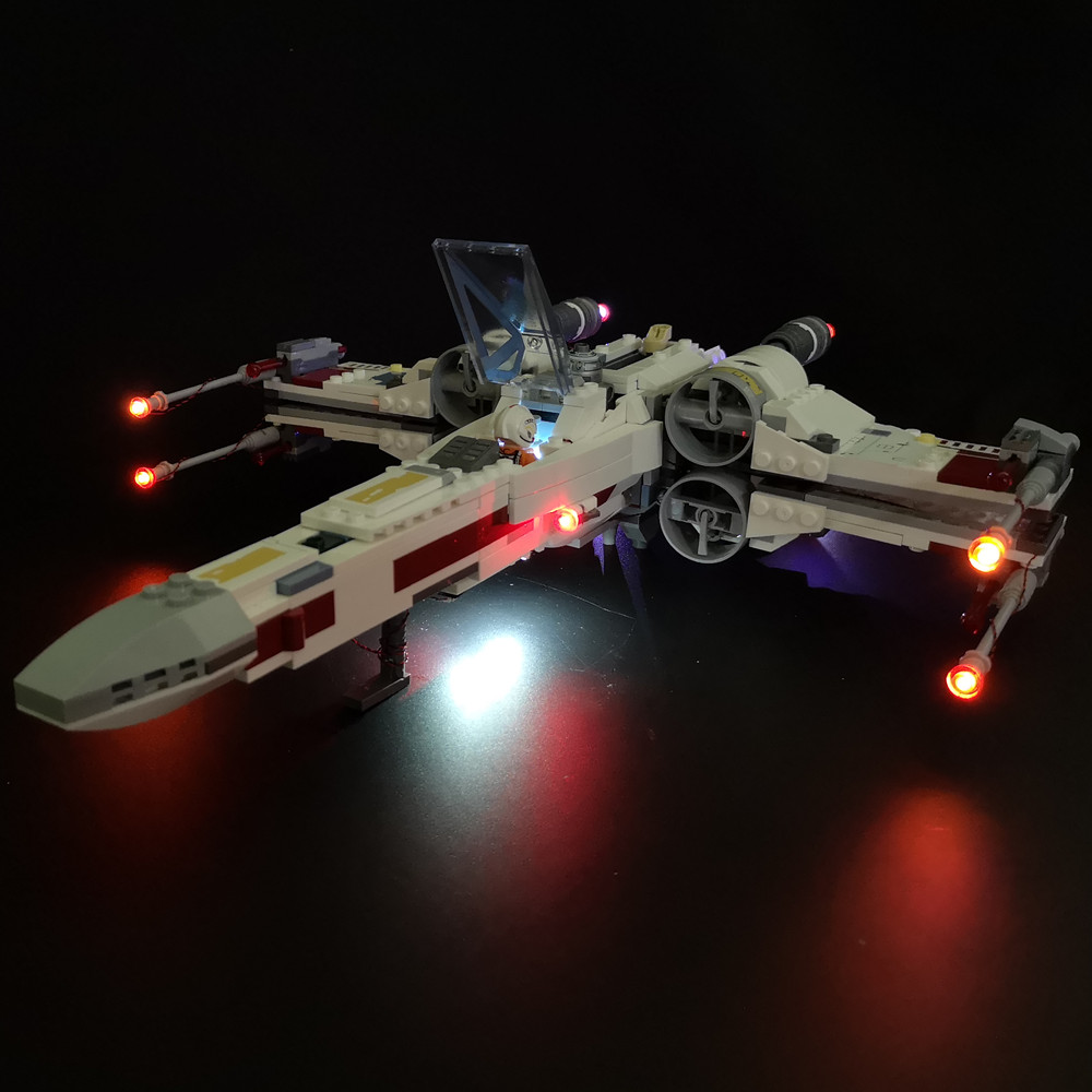 Kyglaring LED Light Kit ForLego 75218 X-wing Starfighter ( Not Included The Model)