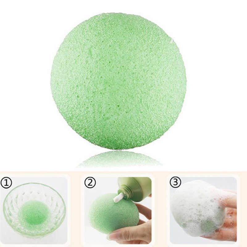 Natural Konjac Konnyaku Facial Puff Face Wash Cleansing Esponja de Maquiagem JIU55