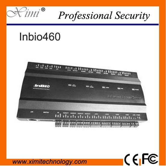 Fingerprint Control panel 4 doors control TCP/IP communication ZK inbio460 door access control system access control board