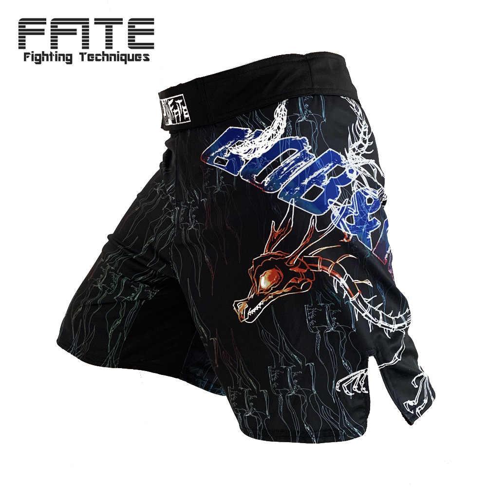 Mma masculino muay thai kickboxing shorts fitness luta boxeo troncos trainningshort