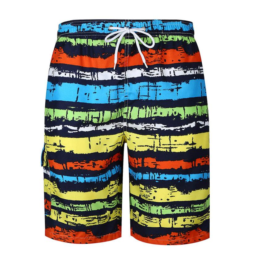 Summer style Beach Shorts for man Quick-drying loose Printed Work Masculino Relaxed seaside Sunbathing Breathable Male Bermuda