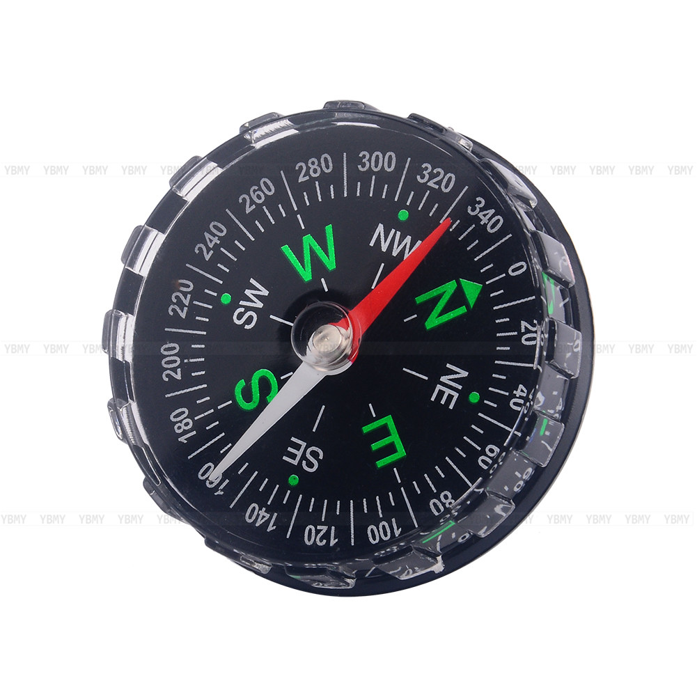 Mini Outdoor Camping Compass Professional Bussola Hiking Button Compass Survive Portable Pocket Compass North