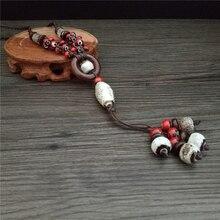Фотография Brokenstone HOT Vintage Ethnic necklace  for women jewelry trendy