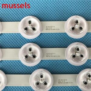 """Image 3 - Striscia di Retroilluminazione A LED Per 40 """"TV VES400UNDS 03 VES400UNDS 01 40PFL3008H/12 40PFL3008K/12 40PFL3018K/12 LT 40TW51 40L3453DB 42hxt12u"""