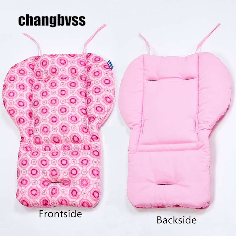 Stroller Mat for Kids Thick Colorful Baby Infant Stroller Seat Pram Cushion Chair Car Umbrella Cart Seat Baby Chair Cushion