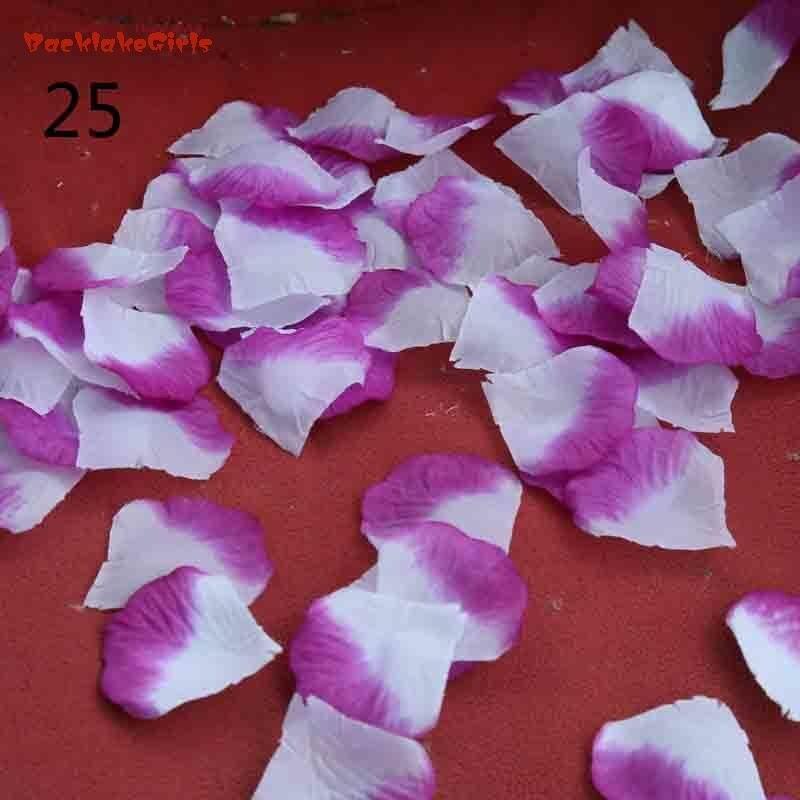 2018 New Goods Rose Petals Wedding Accessories 1000 Pieces/lot Cheap Petalas Artificiais Rose Petals Flowers Wedding Decoration