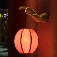 Бра Китайский стиль Настенные Светильники Лампы Для Чтения Светильника Декоративные Ночь Свет для Пути Лестницы Спальня Лампы светильники