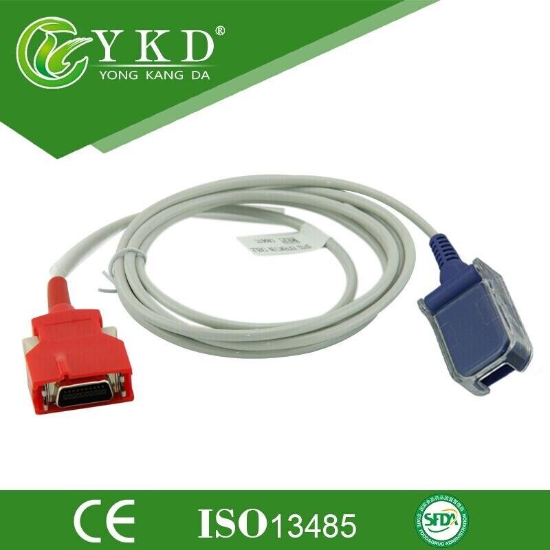ФОТО Free Shipping for Masimo SpO2 Extension Cable,masimo 20pin adapter to DB9 compatible nellcor oximax spo2 sensor, 2.2M