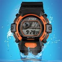 SYNOKE Sports Watches Men Military Army Watch Brand Luxury Date Calendar LED Digital Wristwatches Relogio Masculino