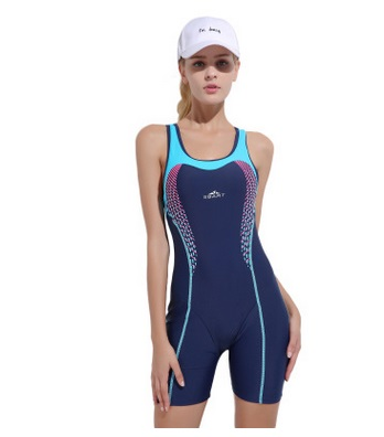Female Racing Sexy Professional One Piece Patchwork Swimwear Lady Striped Breathable Training BathingSuit Push Up SportBeachwear