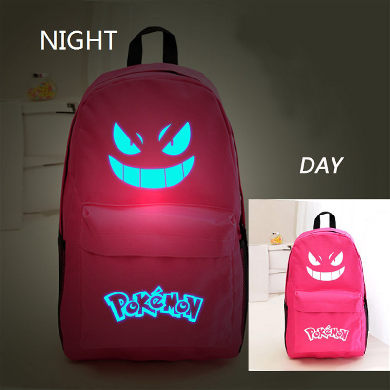 luminosa mochila impressão mochilas pokemon Colors : as Show