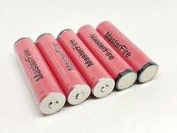 10 шт./лот новая Подлинная MasterFire UR18650w2 3,7 V литий ионная защищенная батарея 1500 mAh 18650 батареи с PCB для SANYO