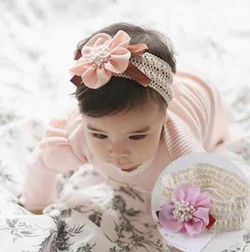 2018 Kids Flower girls Headbands elastique cheveux Headwear haaraccessoires meisje kids hair accessories A011-1