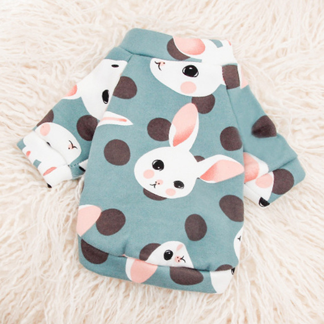 Cute Soft Pet Dog Clothes for Small Dogs Shih Tzu Yorkshire Hoodies Sweatshirt Soft Puppy Cat Costume Clothing 2