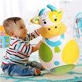 Bonito Stand Up Vaca & Bear Tumbler Inflável Inflável de Boxe Socos Bop Saco Fonte do Partido Presente de Aniversário Brinquedo De Criança Blow Up Toy
