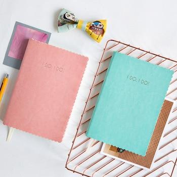Cuaderno escolar Kawaii papelería parejas diario secreto moda diseñador planificador cuaderno para chicas bala diario Defter HJW068