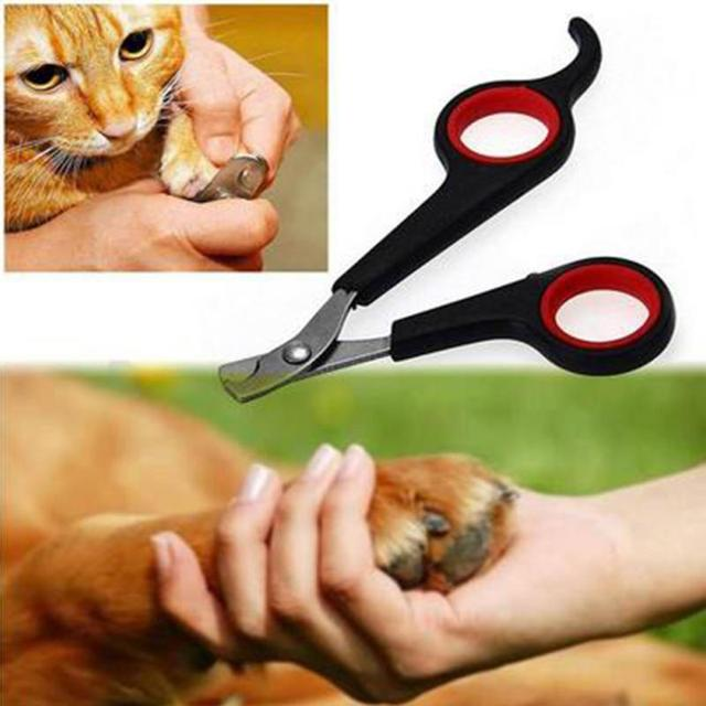 Small Animal Pet Manicure Grooming Nail Cutter Claws Scissor Cat Dog