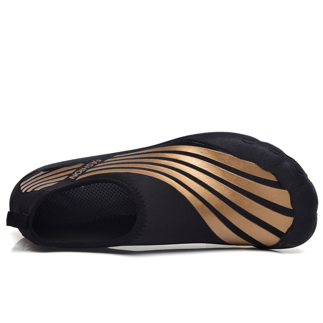 Men's Striped Breathable Gym Slippers 3 colors