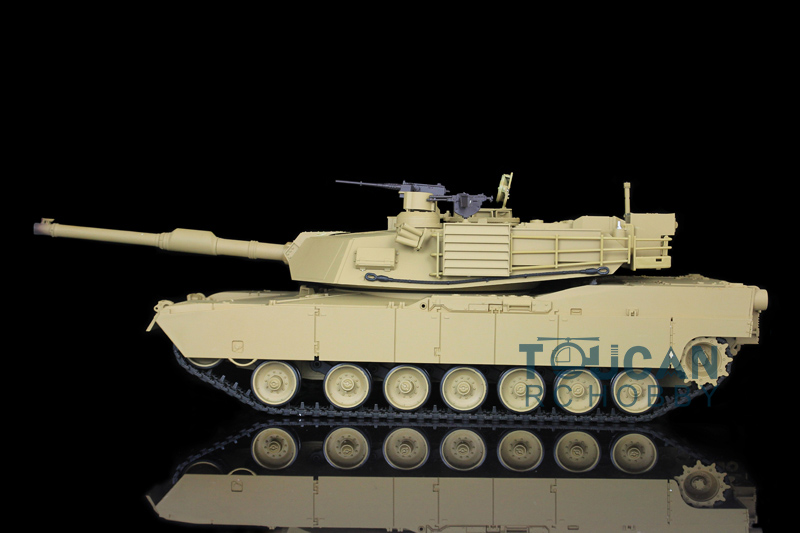 2.4Ghz HengLong 1/16 Scale Plastic Ver USA M1A2 Abrams RTR RC Tank Model 3918 henglong 1 16 m1a2 abrams rtr rc tank metal tracks 3918