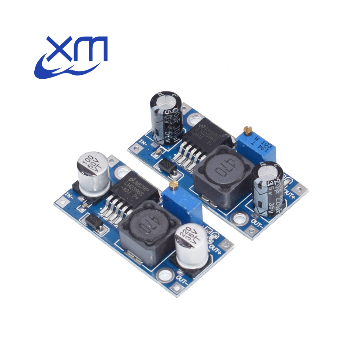 Free Shipping 100pcs LM2596 LM2596S DC DC 4 5 40V adjustable step down power Supply module