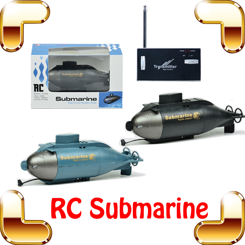 New Year Gift HappyCow 6 CH RC Submarine LED Mini Submarine Remote Control Submarine Simulation Boat Ship Toy Submarine