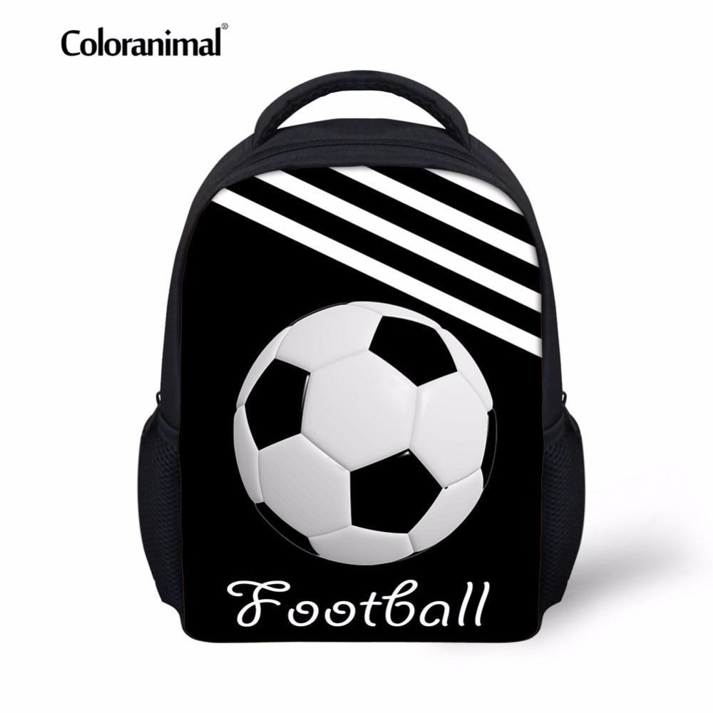 Hearty Coloranimal Youth Girl Boy Soccerly Bagpack Schoolbasg 3d Basket Ball Print Children Kid School Backpack Bookbag Primary Satchel A Great Variety Of Goods Ceiling Lights & Fans