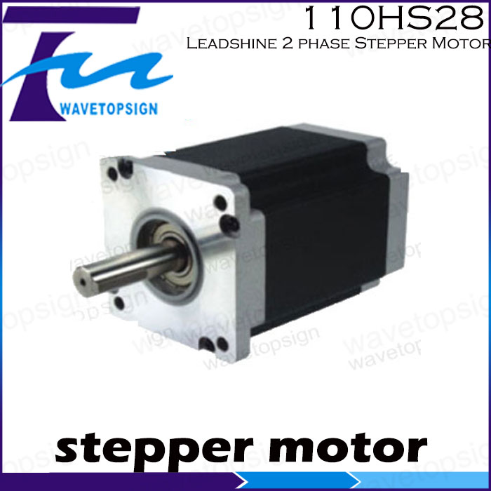 Leadshine  2phase Stepper motor 110HS28 2 phase Step Motor Laser Engraving Machine cnc Machine leadshine 3 phase stepper motor 863s68h 3phase step motor laser engraver machine cnc router