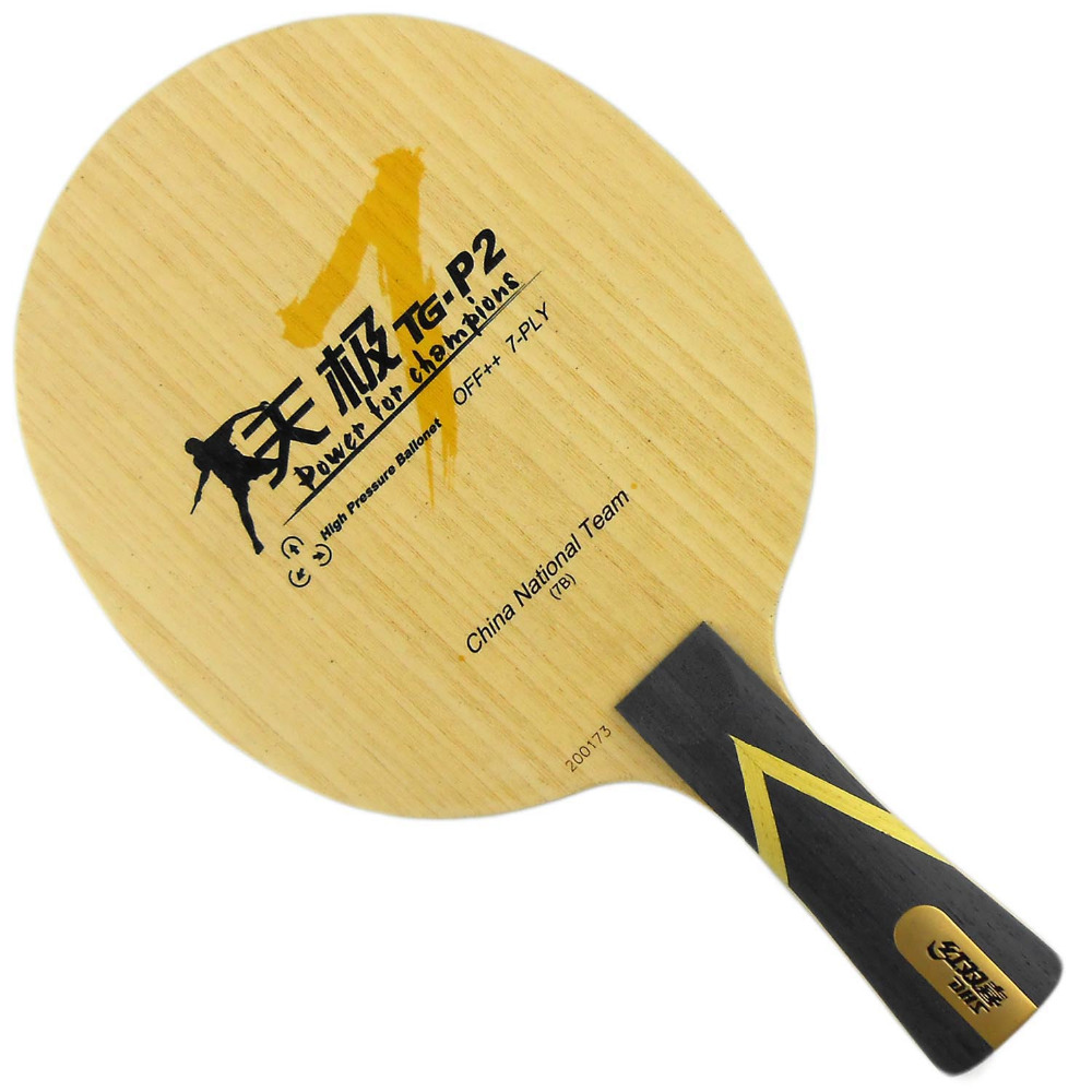 ФОТО DHS TG7.P2  TG7-P2  TG7 P2 5-Full-Wood  Attack+Loop OFF++ Table Tennis Blade Shakehand for PingPong Racket
