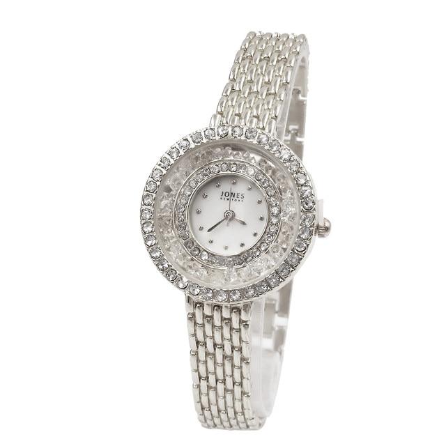 2018 New Elegance Luxury Women Watches Round Full Rhinestone Bracelet Watch Fashion Quartz Wrist Watch Relogio Feminino Gift