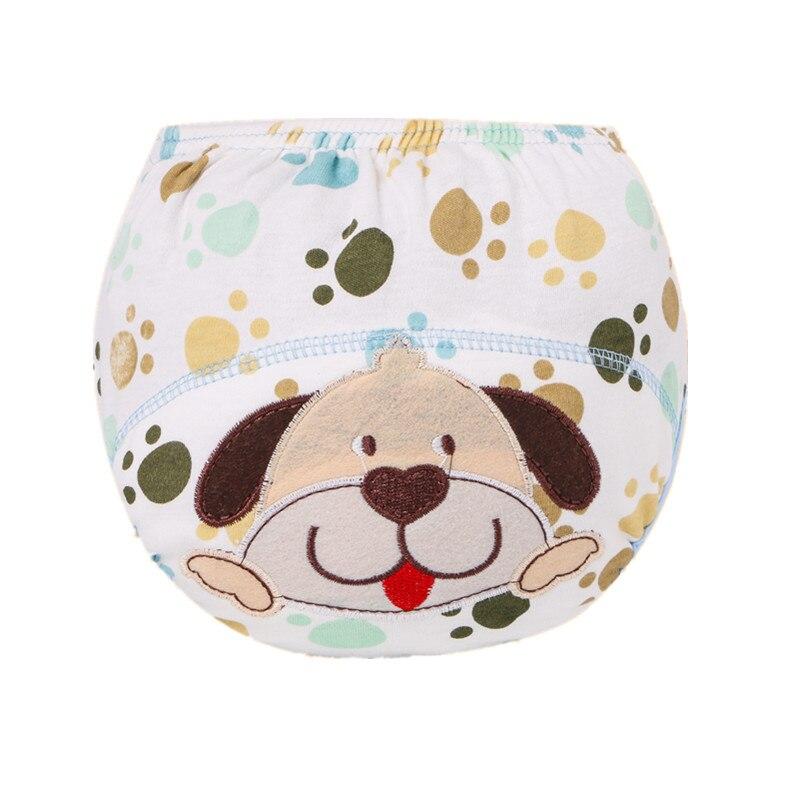 7ffdfc51d080 Pañales para bebé tela reutilizable pañal impermeable de algodón recién  nacido pañal lavable niños pantalones de entrenamiento ropa interior