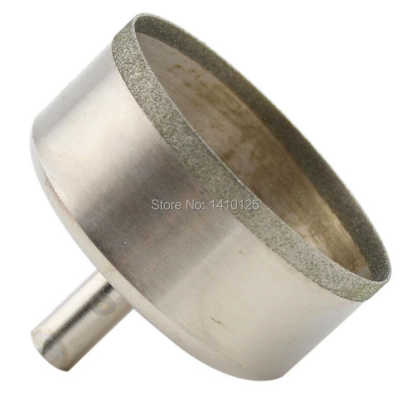 60-100mmの極薄ダイヤモンドホールソーコーティングコアドリルビット0.7 mm縁宝石用宝石ツール宝石用ガラスの石積みの穴あけ
