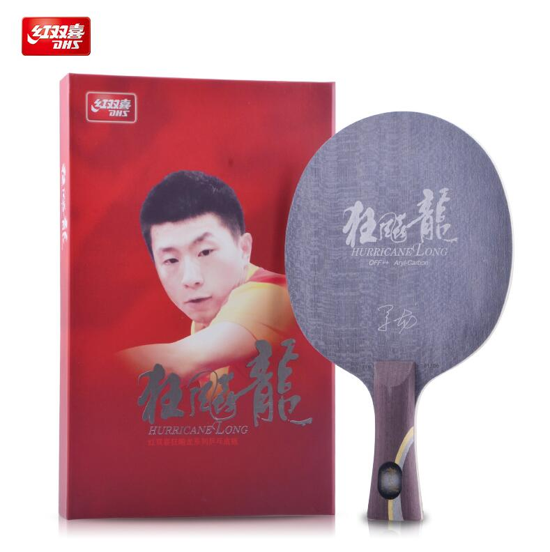 DHS Hurricane Long Arylate-Carbon OFF++ Table Tennis Blade (Shakehand) for PingPong Racket dhs tg 506 tg506 tg 506 off table tennis blade for pingpong racket