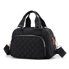 Tecido shake venda quente bolsa grande capacidade compartimento múltiplo crossbody bolsa femail bolsas de ombro para mulher