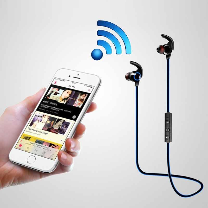 Dla Huawei Honor 10 9 Lite Mini Play uwaga 10 8X Max 7A 7X 7C 6C Pro 6A 6X 5X słuchawki Bluetooth słuchawki bezprzewodowe słuchawki sportowe słuchawki douszne