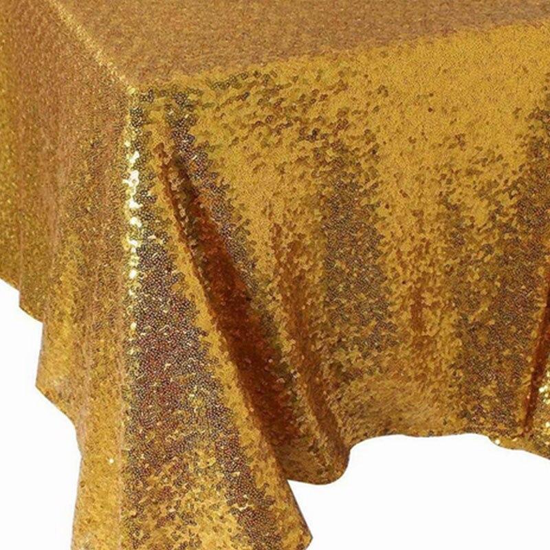 120x180 см блесток скатерть Прямоугольник Серебро для свадьбы Рождество Черная пятница вечерние льняные товар для быта домашняя скатерть