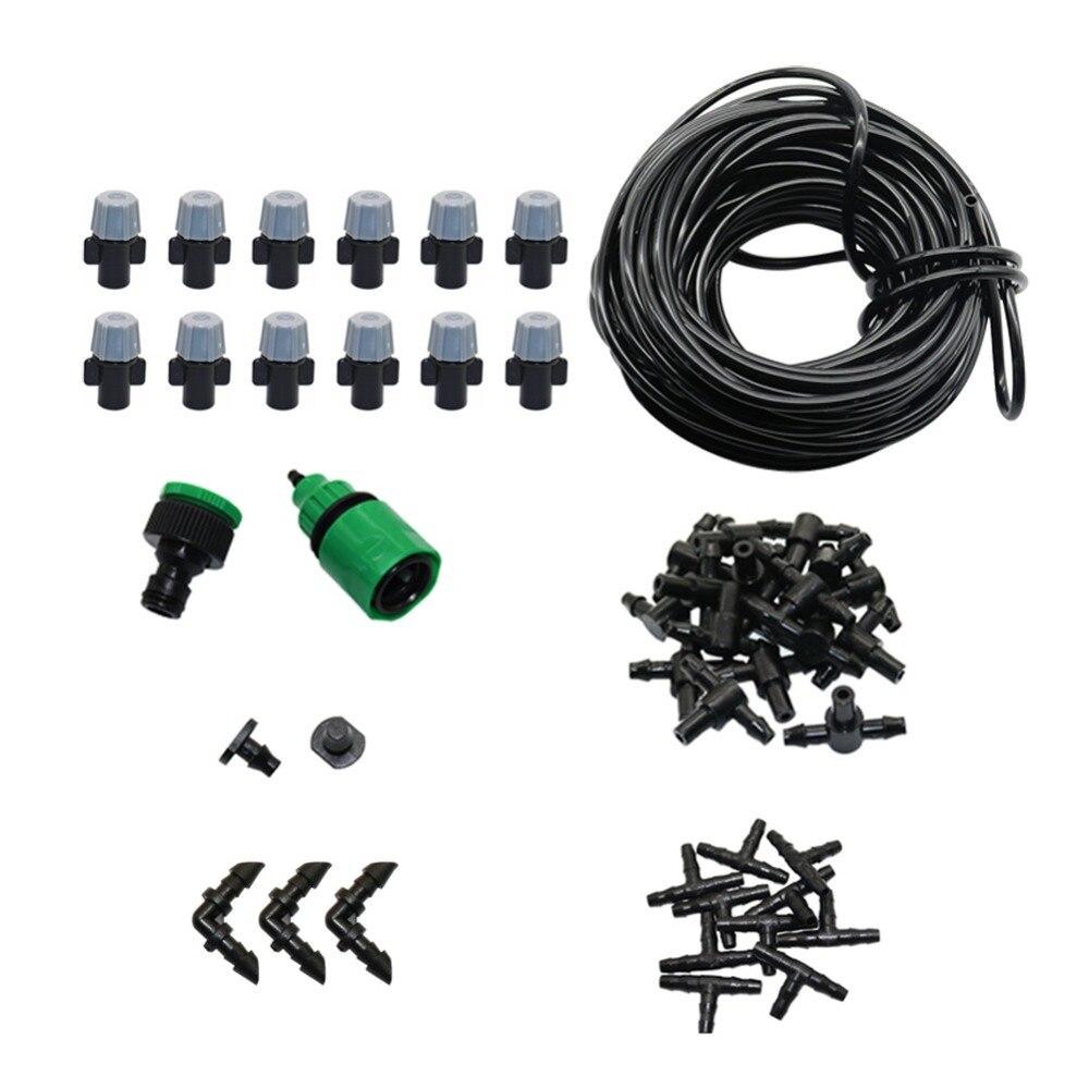 5 m/10 m/20 m kit de riego automático de nebulización sistema de riego por goteo para jardín Kit de riego de invernadero para agricultura 3/4