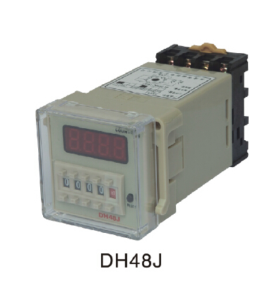 220VAC digital preset counter relay 1-999900 LED display 11 pin panel installed DH48J-A SPDT per-formative number counter220VAC digital preset counter relay 1-999900 LED display 11 pin panel installed DH48J-A SPDT per-formative number counter